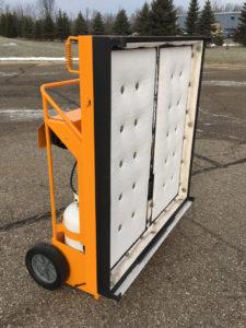 Riciclatore d'asfalto a infrarossi TS ASfalti
