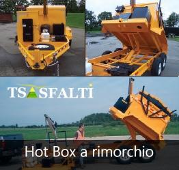 Rigeneratore Hot box a rimorchio