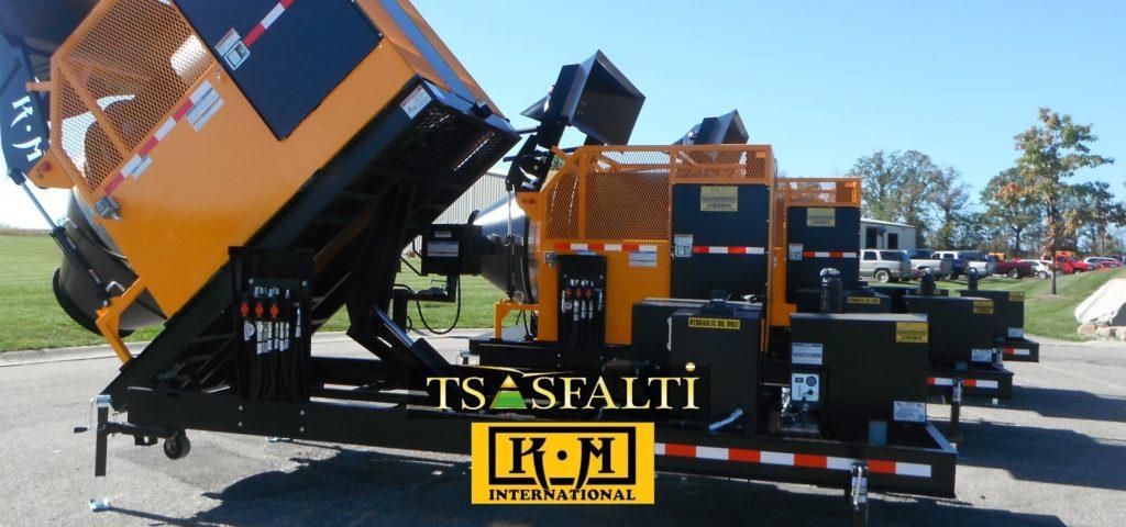 Riciclatore d'asfalto KM T-2