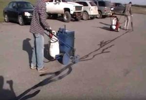 riparazione crepe asfalto
