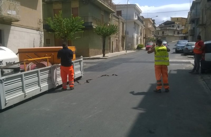 riparare asfalto