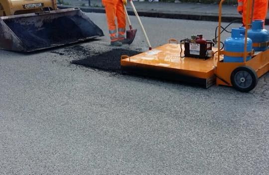 Riciclaggio asfalto TS Asfalti