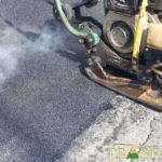 riparazione buche con asfalto riciclato