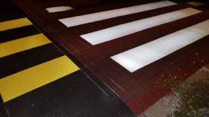 strisce pedonali stampate